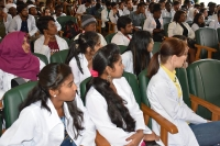 Rector's meeting with students and teachers